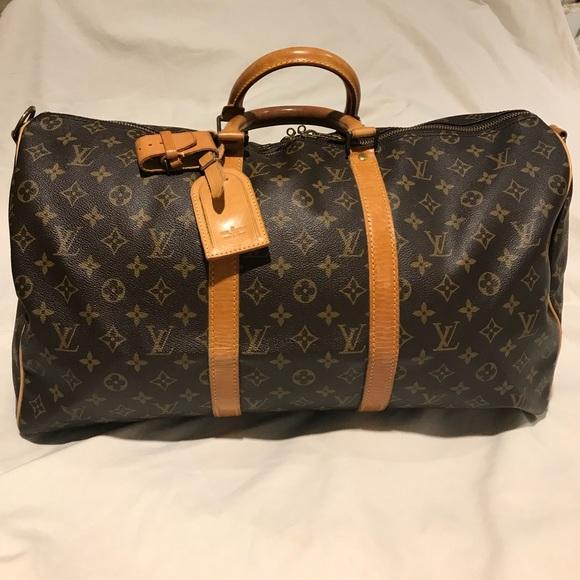 d3c31da9e775 Louis Vuitton Handbags - Louis Vuitton Bandouliere Keepall 35 Duffle Bag